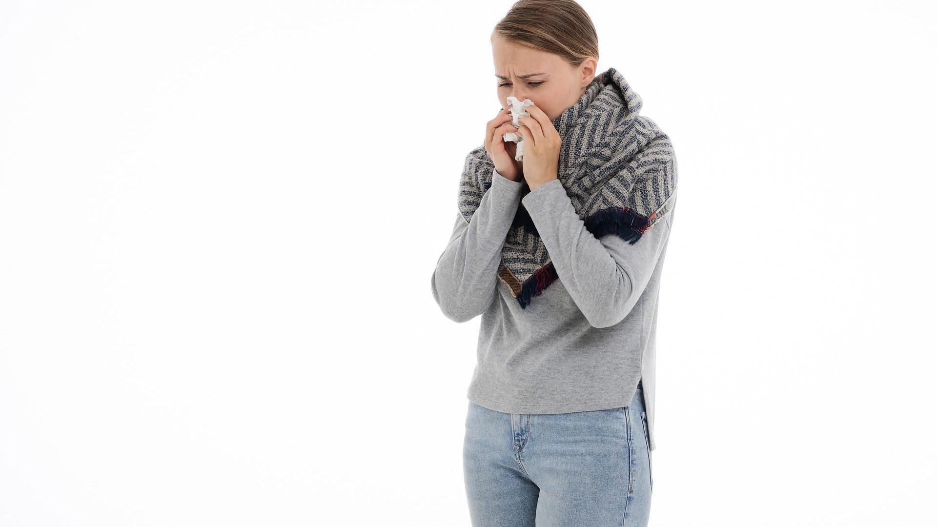 Geste 4 : quand on est atteint par les virus de l'hiver : porter un masque